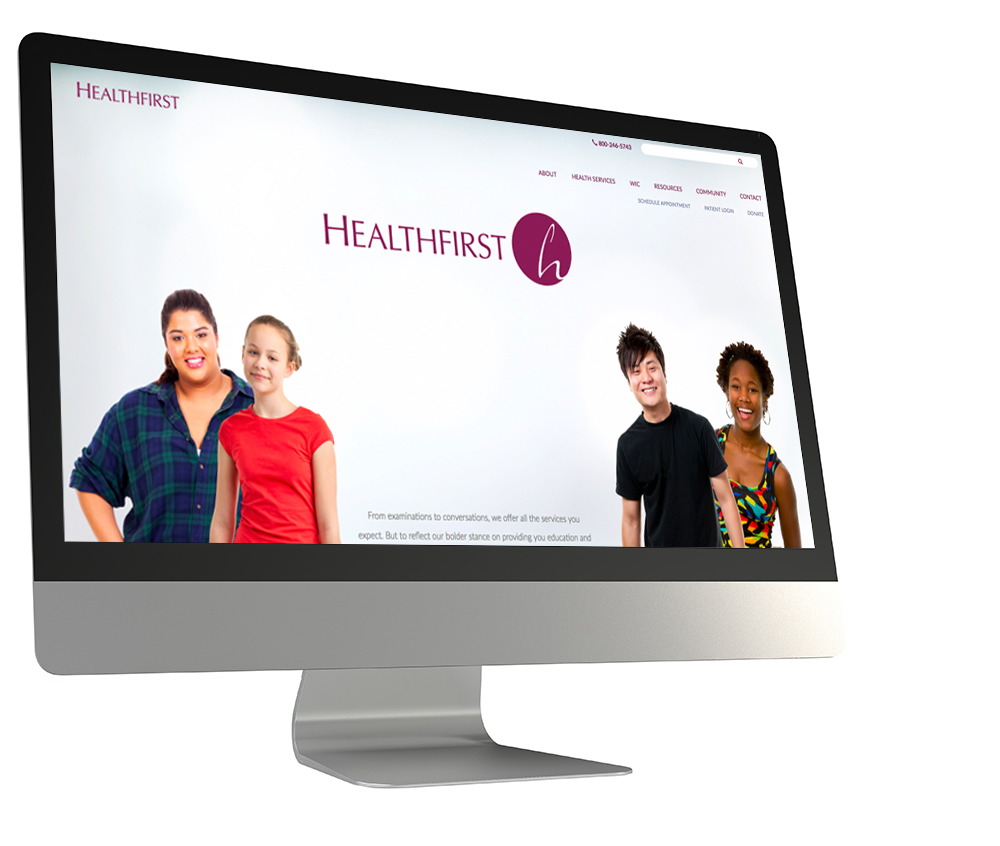 healthfirstnetwork.org home page